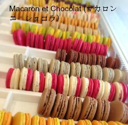 マカロン エ ショコラ